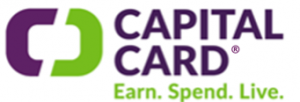 Capital logo with: Earn spend Live